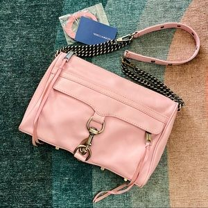RARE FULL SIZE Rebecca Minkoff MAC Crossbody Pink